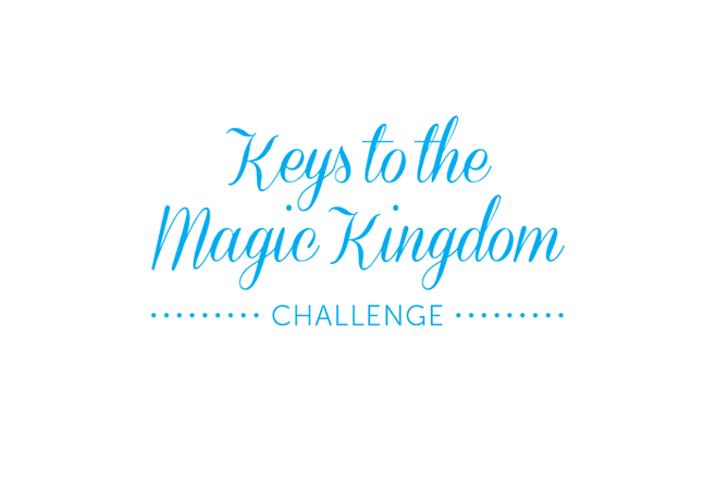 Keys to the Magic Kingdom Challenge