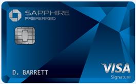 Sapphire Preferred new