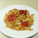 Cauliflower Pepperoni Pasta