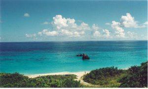 Bermuda beach paradise
