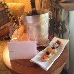 Champagne and Pastries at Westin Excelsior Rome
