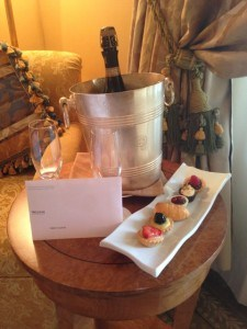Westin Excelsior Rome - Welcome Gift