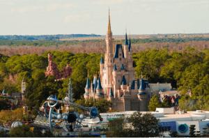 Disney Cinderella Castle day