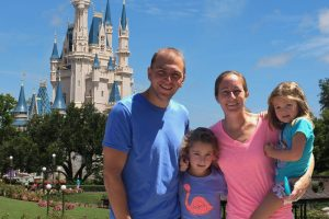 Barrett Family at Disney World for Free