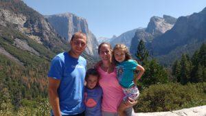 Barrett Family at Yosemite