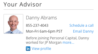 Personal Capital Advisor