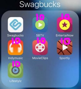 Swagbucks video apps