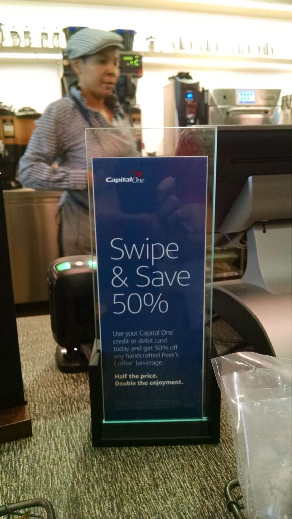 Capital One Cafe Discount