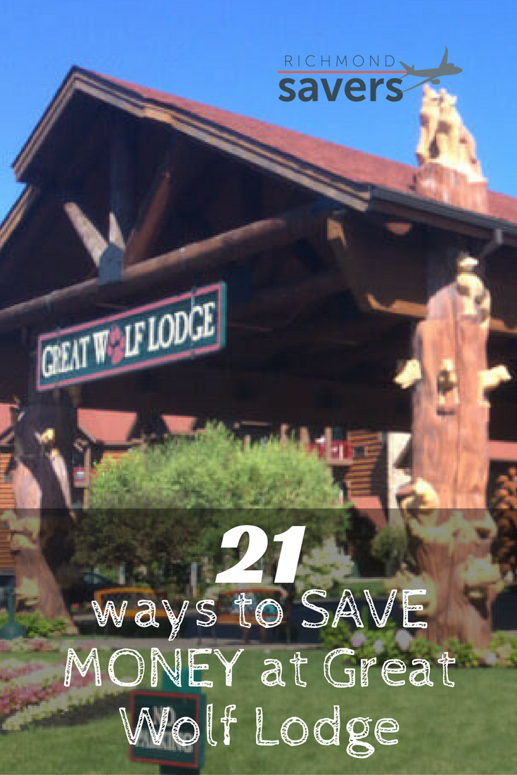 Master List of Ways to Save Money at Great Wolf Lodge