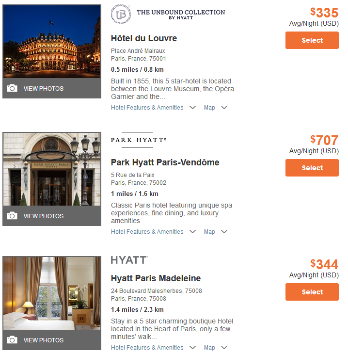 Planning a Trip to Paris with Points and Miles
