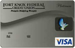 Fort Knox Credit Union Visa