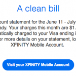 It's Official, My Cell Phone Bill is $1.87