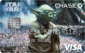 Disney Credit Card Yoda