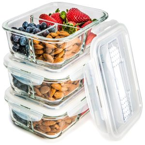 glass meal containers